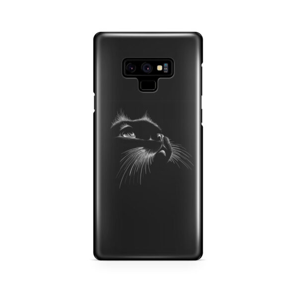 Black Cat for Customized Samsung Galaxy Note 9 Case Cover