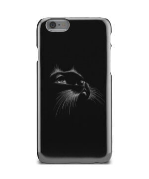 Black Cat for Personalised iPhone 6 Case Cover