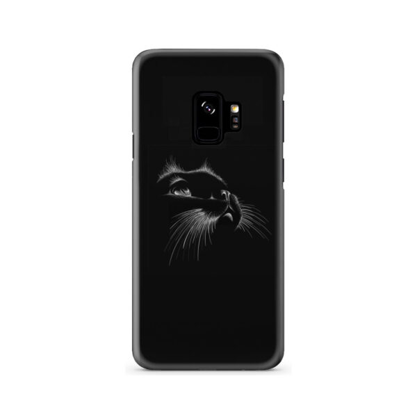 Black Cat for Personalised Samsung Galaxy S9 Case Cover
