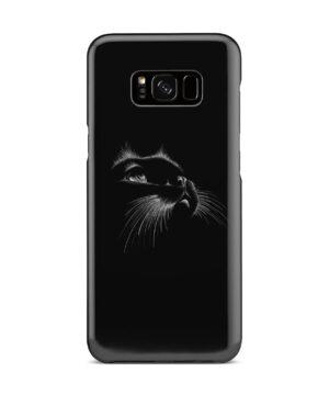 Black Cat for Premium Samsung Galaxy S8 Plus Case Cover