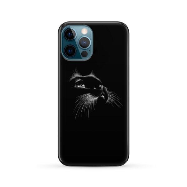 Black Cat for Simple iPhone 12 Pro Max Case