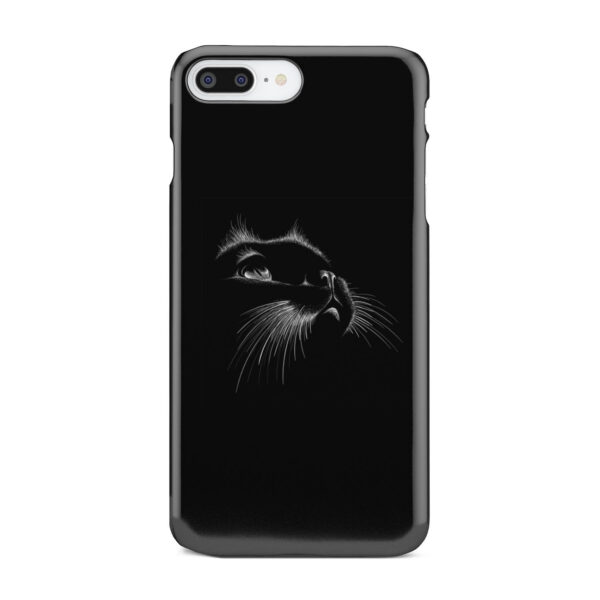Black Cat for Stylish iPhone 7 Plus Case Cover