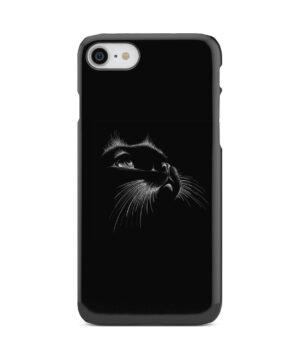 Black Cat for Trendy iPhone 8 Case
