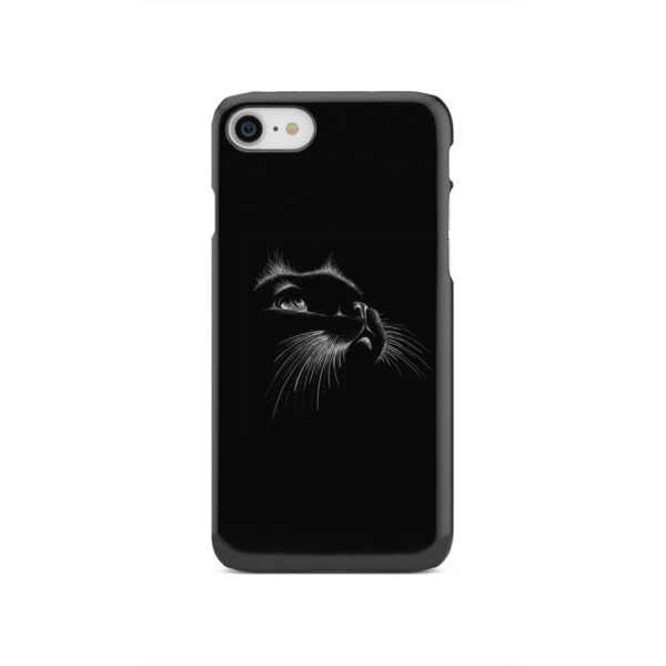 Black Cat for Unique iPhone SE 2020 Case Cover