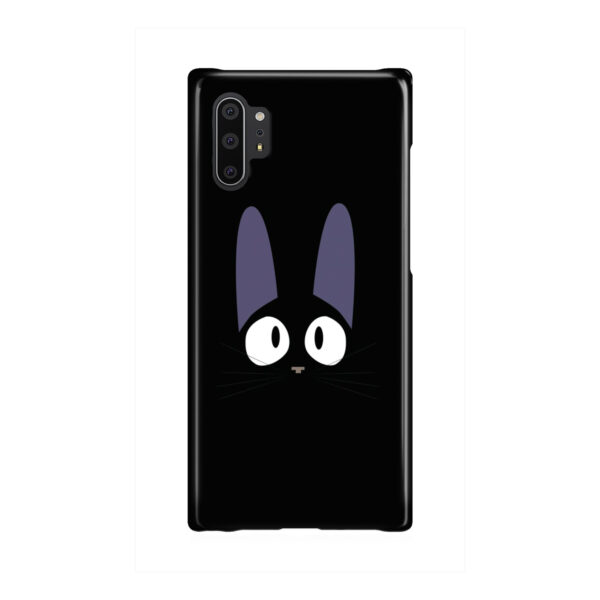 Black Jiji Cat Anime Kiki's Delivery Service for Beautiful Samsung Galaxy Note 10 Plus Case