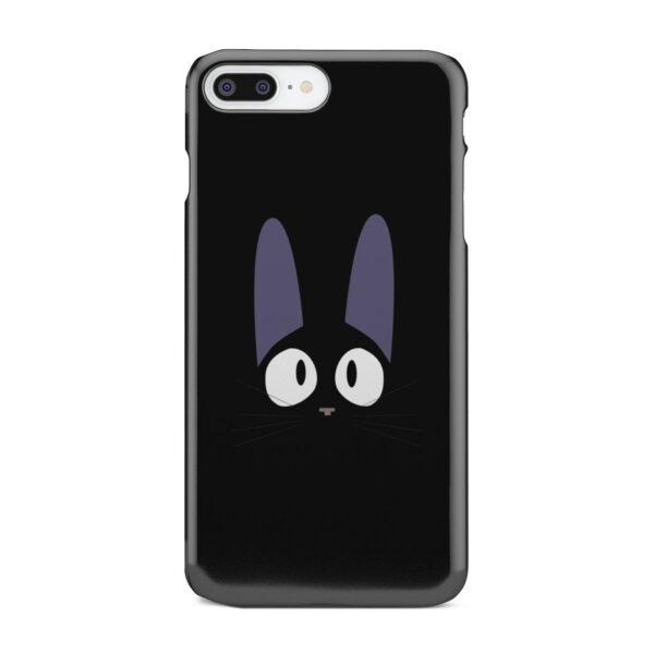 Black Jiji Cat Anime Kiki's Delivery Service for Customized iPhone 8 Plus Case