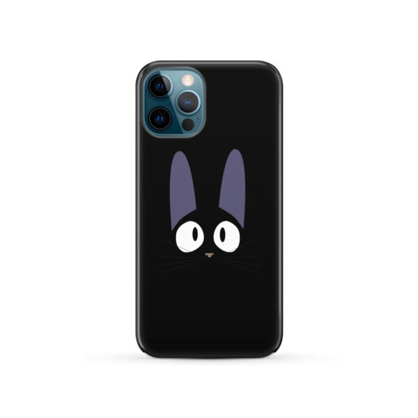 Black Jiji Cat Anime Kiki's Delivery Service for Cute iPhone 12 Pro Case