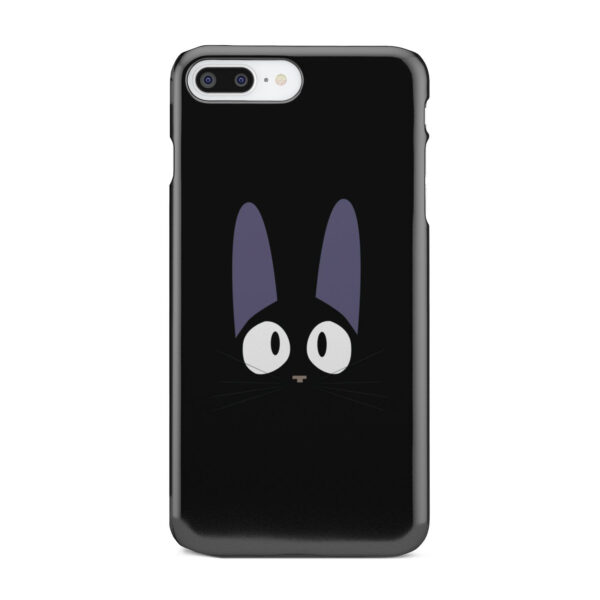 Black Jiji Cat Anime Kiki's Delivery Service for Nice iPhone 7 Plus Case