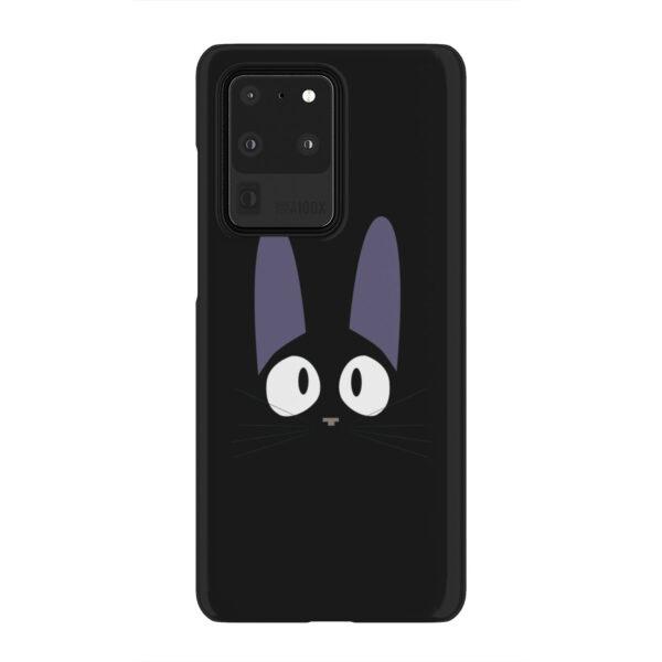 Black Jiji Cat Anime Kiki's Delivery Service for Premium Samsung Galaxy S20 Ultra Case