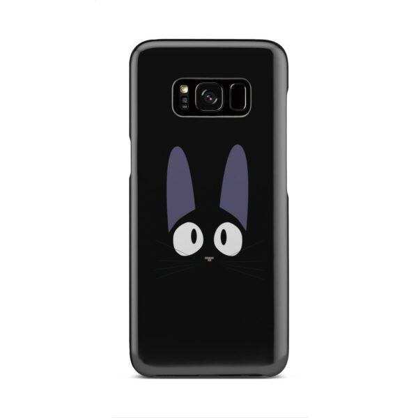 Black Jiji Cat Anime Kiki's Delivery Service for Simple Samsung Galaxy S8 Case