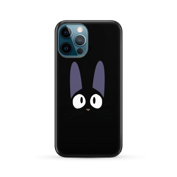 Black Jiji Cat Anime Kiki's Delivery Service for Trendy iPhone 12 Pro Max Case