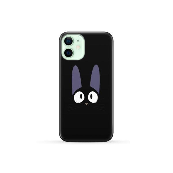 Black Jiji Cat Anime Kiki's Delivery Service for Unique iPhone 12 Mini Case