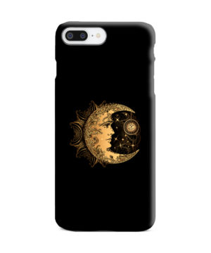 Boho Crescent Moon and Sun for Amazing iPhone 8 Plus Case Cover