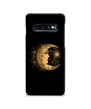 Boho Crescent Moon and Sun for Nice Samsung Galaxy S10 Case