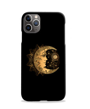 Boho Crescent Moon and Sun for Personalised iPhone 11 Pro Case Cover