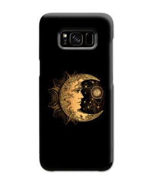 Boho Crescent Moon and Sun for Premium Samsung Galaxy S8 Case