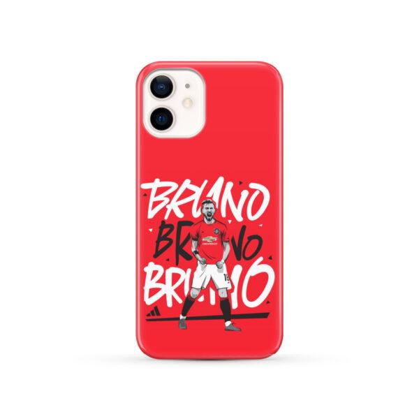 Bruno Fernandes Celebration Man UTD for Beautiful iPhone 12 Case Cover