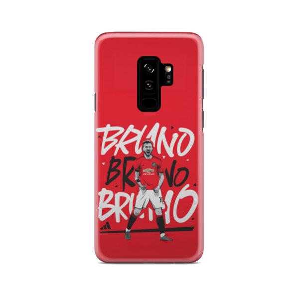 Bruno Fernandes Celebration Man UTD for Beautiful Samsung Galaxy S9 Plus Case