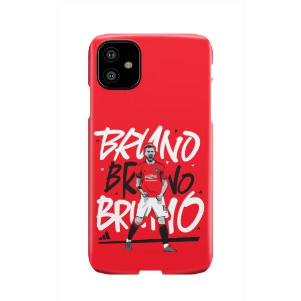 Bruno Fernandes Celebration Man UTD for Best iPhone 11 Case