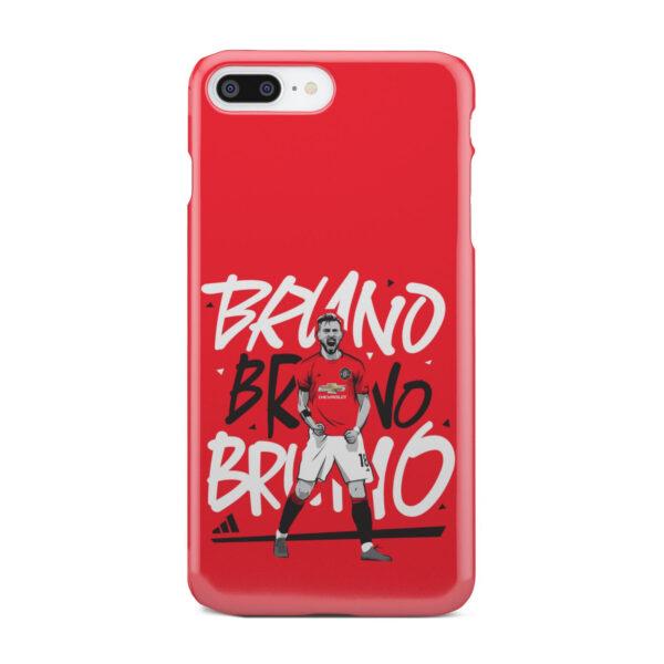 Bruno Fernandes Celebration Man UTD for Customized iPhone 7 Plus Case Cover