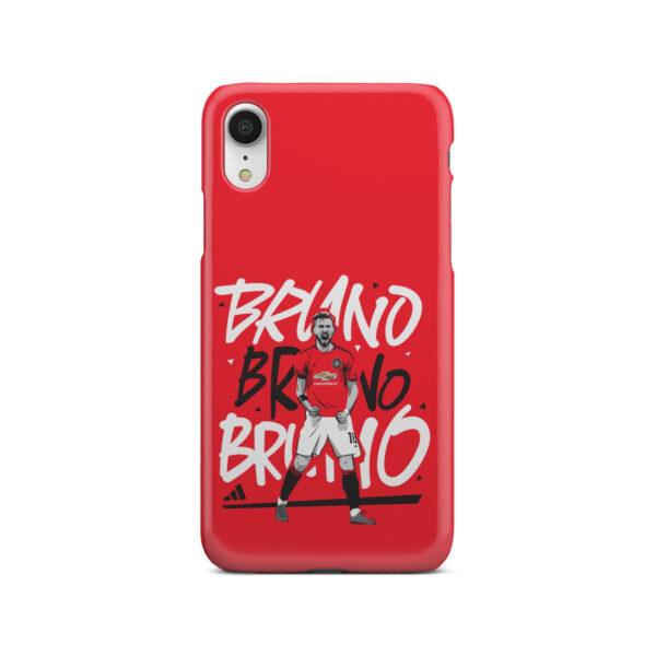Bruno Fernandes Celebration Man UTD for Cute iPhone XR Case Cover