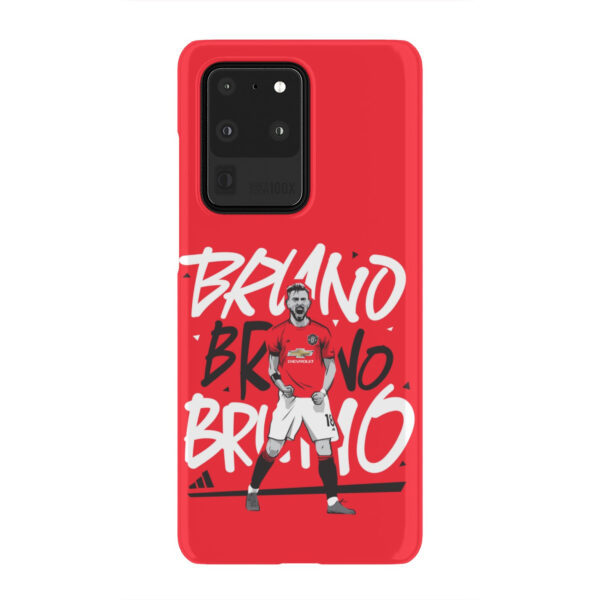 Bruno Fernandes Celebration Man UTD for Cute Samsung Galaxy S20 Ultra Case