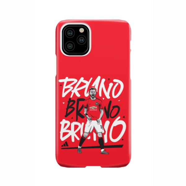 Bruno Fernandes Celebration Man UTD for Nice iPhone 11 Pro Case Cover