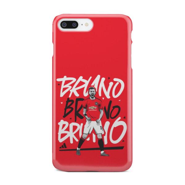 Bruno Fernandes Celebration Man UTD for Nice iPhone 8 Plus Case Cover