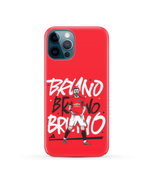 Bruno Fernandes Celebration Man UTD for Personalised iPhone 12 Pro Case Cover