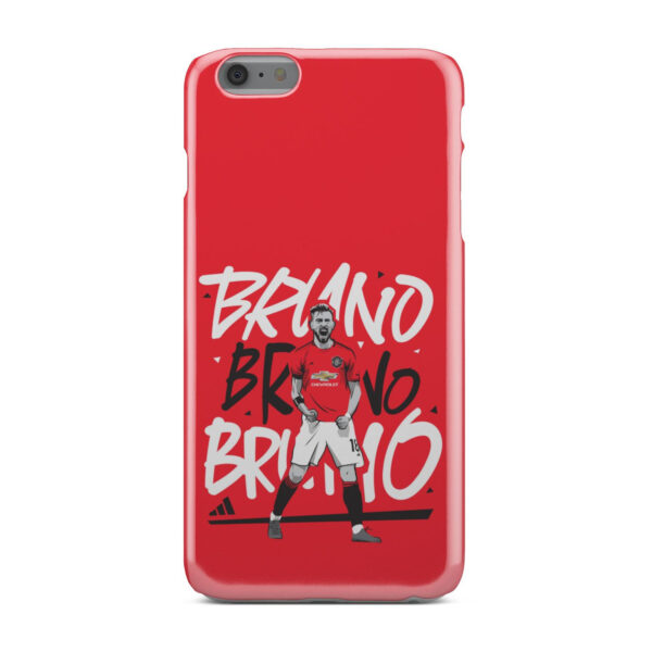 Bruno Fernandes Celebration Man UTD for Personalised iPhone 6 Plus Case Cover