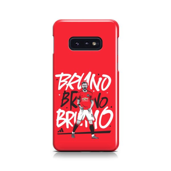 Bruno Fernandes Celebration Man UTD for Personalised Samsung Galaxy S10e Case Cover