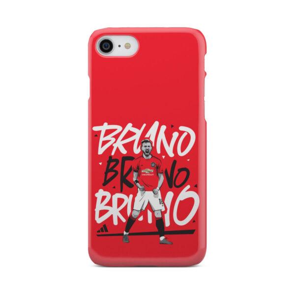 Bruno Fernandes Celebration Man UTD for Premium iPhone 8 Case