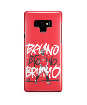 Bruno Fernandes Celebration Man UTD for Simple Samsung Galaxy Note 9 Case
