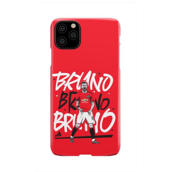 Bruno Fernandes Celebration Man UTD for Stylish iPhone 11 Pro Max Case Cover