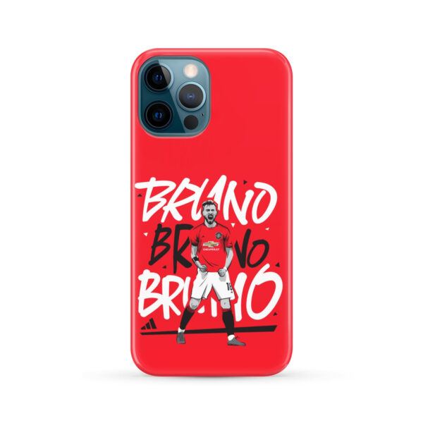Bruno Fernandes Celebration Man UTD for Trendy iPhone 12 Pro Max Case