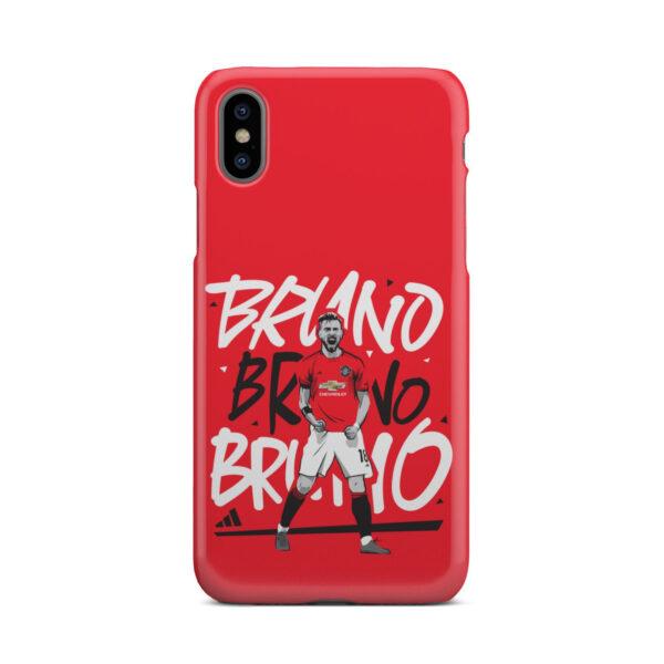 Bruno Fernandes Celebration Man UTD for Unique iPhone X / XS Case