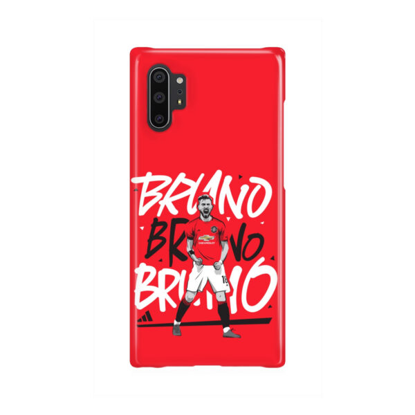 Bruno Fernandes Celebration Man UTD for Unique Samsung Galaxy Note 10 Plus Case