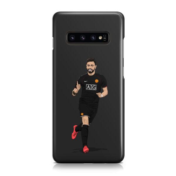 Bruno Fernandes Man UTD for Beautiful Samsung Galaxy S10 Case