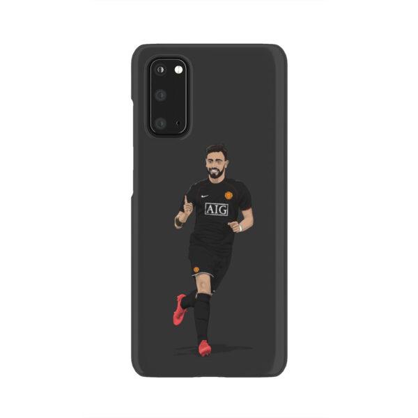 Bruno Fernandes Man UTD for Unique Samsung Galaxy S20 Case