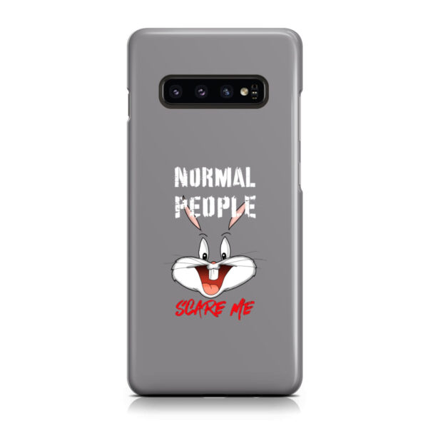Bugs Bunny Characters for Custom Samsung Galaxy S10 Plus Case