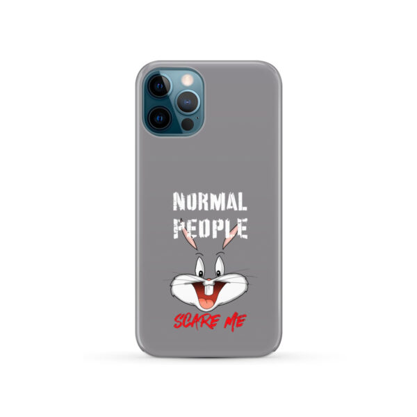 Bugs Bunny Face for Simple iPhone 12 Pro Case Cover