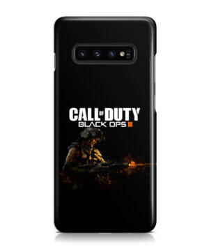 Call of Duty Black Ops for Beautiful Samsung Galaxy S10 Case