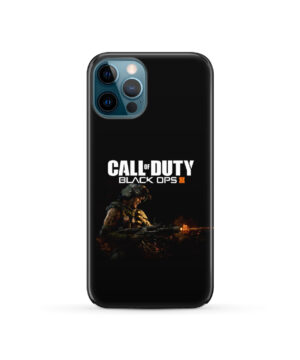 Call of Duty Black Ops for Custom iPhone 12 Pro Case