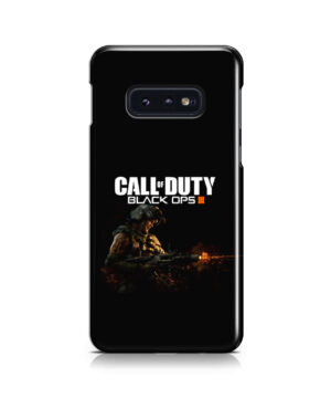 Call of Duty Black Ops for Custom Samsung Galaxy S10e Case