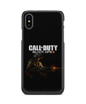 Call of Duty Black Ops for Premium iPhone X / XS Case Cover