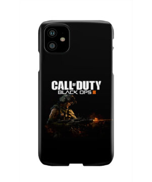 Call of Duty Black Ops for Simple iPhone 11 Case