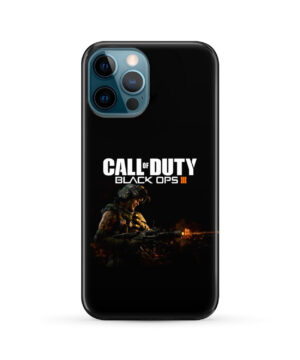 Call of Duty Black Ops for Simple iPhone 12 Pro Max Case Cover