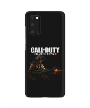 Call of Duty Black Ops for Simple Samsung Galaxy S20 Case Cover