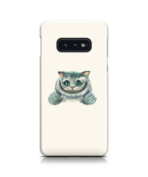 Cheshire Cat Alice in Wonderland for Custom Samsung Galaxy S10e Case