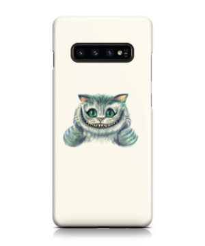 Cheshire Cat Alice in Wonderland for Premium Samsung Galaxy S10 Case Cover